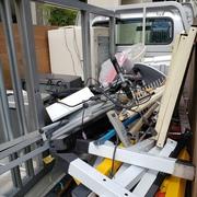 家電、金属の積み放題ハーフパック作業例