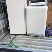 冷蔵庫、洗濯機の回収実例 横浜市鶴見区