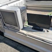 テレビ回収の作業実績 横浜市磯子区