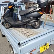 オートバイの回収実績 横浜市金沢区