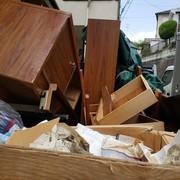 引っ越し残置物の回収、処分 横浜市港南区