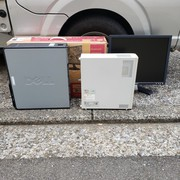 パソコン回収の作業実績 横浜市港南区