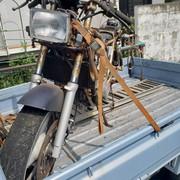 オートバイ回収の作業実績 横浜市栄区