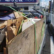 不用品回収の作業実績 横浜市泉区