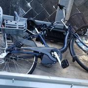 自転車処分の作業実績 横浜市港南区